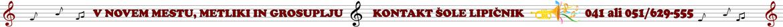 Dobrodošli na uradni spletni strani glasbene šole Lipičnik. Prijetno brskanje .